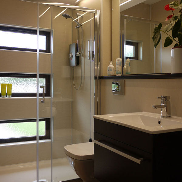 Luxury Shower and Changing Facilities