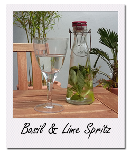 Basil and Lime Spritz